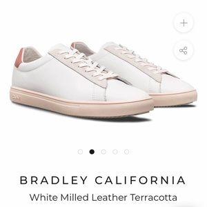 Clae Bradley Terracotta Sneakers